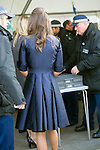 David Frost Memorial Service at Westminster Abbey<br /> <br /> Pippa Middleton arrived in a  blue dress with friends - she had to go through security.<br /> <br /> <br /> <br /> <br /> Pic by Gavin Rodgers/Pixel 8000 Ltd