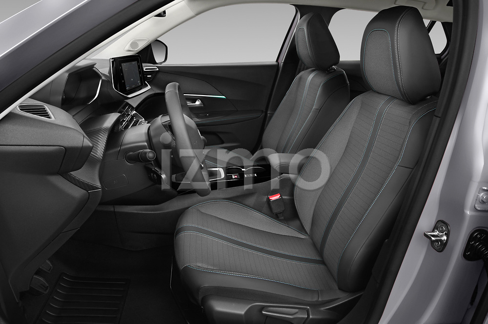 Front seat view of 2021 Peugeot 2008 Allure 5 Door SUV Front Seat  car photos