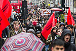 © Joel Goodman - 07973 332324 . 30/11/2010 . London , UK . Students and their supporters march and demonstrate in London against government cuts to student support , Educational Maintenance Allowance ( EMA ) and rising university tuition fees . Photo credit : Joel Goodman