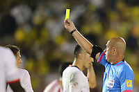 Pasadena, CA - Tuesday June 07, 2016: Referee Heber Lopes during a Copa America Centenario Group A match between Colombia (COL) and Paraguay (PAR) at Rose Bowl Stadium.