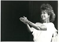 Jane Fonda au Festival des Films du Monde 1985<br /> <br /> <br /> PHOTO : Agence Quebec Presse
