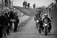 Paris-Roubaix 2012 ..low angleling Taylor Phinney