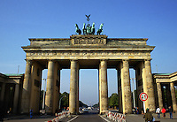 The Brandenburg Gate. Berlin, Germany.