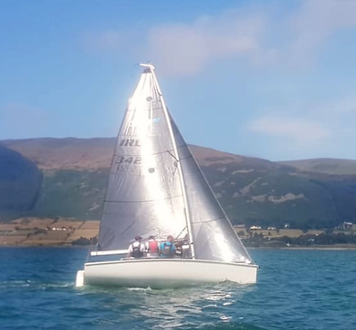 The Doran family from Wexford took two wins on Sunday, and finished third overall.