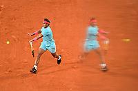 Finale Simple Messieurs -<br /> Rafael Nadal (Esp) goutte de sueur<br /> Parigi 11/10/2020 Roland Garros <br /> Tennis Grande Slam 2020<br /> French Open <br /> Photo JB Autissier / Panoramic / Insidefoto <br /> ITALY ONLY