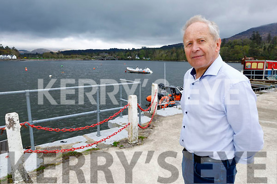 Mickey Ned O'Sullivan, Chairman Kenmare Peninsula Action Group pictured at the pier in Kenmare as they received €19,000 for a feasibility study for a community amenity in Kenmare