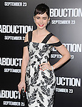 Lily Collins at The Lionsgate Premiere of ABDUCTION  held at The Grauman's Chinese Theatre in Hollywood, California on September 15,2011                                                                               © 2011 DVS/ Hollywood Press Agency