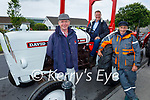 Attending the Ardfert Vintage Tractor run fundraiser for Kerry Cork Cancer Support Group in Ardfert on Sunday, l to r: Con Sugrue (Farmers Bridge), John Kerins (Blennerville) and Paddy Ashe (Inch).