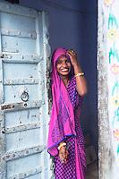 Beautiful Women of Sambhar, Rajasthan