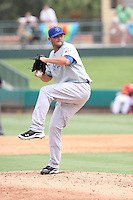 David Kopp of Team Israel pitches  during a game against Team Spain during the World Baseball Classic preliminary round at Roger Dean Stadium on September 21, 2012 in Jupiter, Florida. Team Israel defeated Team Spain 4-2. (Stacy Jo Grant/Four Seam Images)