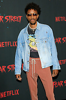 LOS ANGELES - JUN 28:  Darrell Britt-Gibson at Netflix's Fear Street Triology Premiere at the LA STATE HISTORIC PARK on June 28, 2021 in Los Angeles, CA