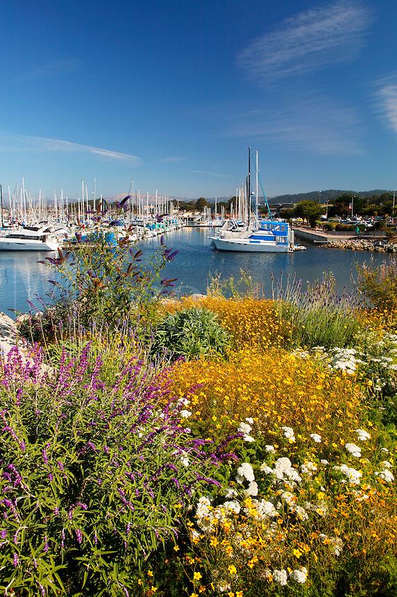 Old Fisherman's Wharf and the Monterey Municipal Marina, Monterey, California