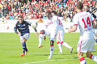 Anthony Ujah (Koeln) - FSV Frankfurt vs. 1. FC Koeln, Frankfurter Volksbank Stadion