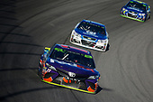 Monster Energy NASCAR Cup Series<br /> Hollywood Casino 400<br /> Kansas Speedway, Kansas City, KS USA<br /> Sunday 22 October 2017<br /> Denny Hamlin, Joe Gibbs Racing, FedEx Express Toyota Camry<br /> World Copyright: Barry Cantrell<br /> LAT Images