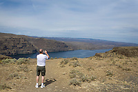 Rest Stop along Interstate 90, overlooking Columbia River...