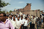 12 March 2013, Kanpur, Uttar Pradesh India: Local residents turn out to see President of the World Bank, Mr Jim Yong Kim on his visit to the village of Tilsarikhurd village near to the city of Kanpur in Uttar Pradesh state. Mr.Kim is visiting India  for meetings with local staff, Indian Government Ministers and to inspect projects sponsored by World Bank in regional areas. Picture by Graham Crouch/World Bank