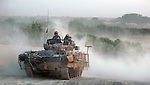 1st Battalion Scots Guards patrol the area of  Tapa Palang, Helmand Province in their Warrior infantry fighting vehicle.