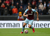 2nd October 2021;  Turf Moor, Burnley, Lancashire, England; Premier League football, Burnley versus Norwich City: Charlie Taylor of Burnley runs with the ball