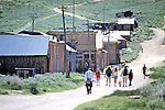 Tourists Visiting Bodie