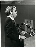 Joe Clark<br /> , le  1er decembre 1979<br /> <br /> PHOTO : agence quebec presse