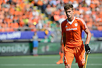 The Hague, Netherlands, June 15: Sander de Wijn #23 of The Netherlands prepares for a penalty corner during the field hockey gold match (Men) between Australia and The Netherlands on June 15, 2014 during the World Cup 2014 at Kyocera Stadium in The Hague, Netherlands. Final score 6-1 (2-1)  (Photo by Dirk Markgraf / www.265-images.com) *** Local caption ***