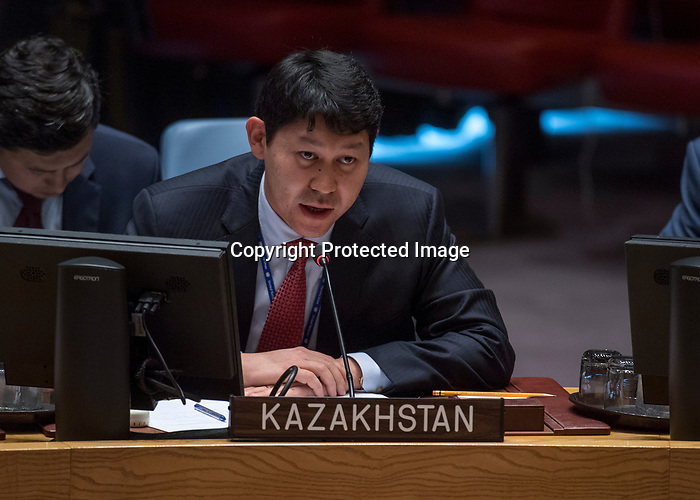 Security Council meeting<br /> The situation in the Central African Republic<br /> Report of the Secretary-General on the Central African Republic (S/2017/865)<br /> <br /> <br /> KAZAKHSTAN