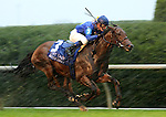 Better Lucky and Julien Leparoux win the First Lady stakes at Keeneland Race Course.   October 05, 2013.