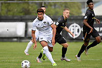 Ahmed Othman of Hawke's Bay United during the ISPS Handa Men's Premiership - Team Wellington v Hawke's Bay United at David Farrington Park, Wellington on Saturday 21 November 2020.<br /> Copyright photo: Masanori Udagawa /  www.photosport.nz
