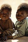 Kabinga, Zambia. Two children.