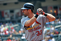 St. Louis Cardinals infielder Daniel Descalso #33 during a game against the New York Mets at Citi Field on July 21, 2011 in Queens, NY.  Cardinals defeated Mets 6-2.  Tomasso DeRosa/Four Seam Images