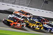2017 NASCAR Monster Energy Cup - Can-Am Duels<br /> Daytona International Speedway, Daytona Beach, FL USA<br /> Thursday 23 February 2017<br /> Martin Truex Jr, Bass Pro Shops/TRACKER BOATS Toyota Camry and Matt Kenseth, DeWalt Toyota Camry<br /> World Copyright: Nigel Kinrade/LAT Images<br /> ref: Digital Image 17DAY2nk06955