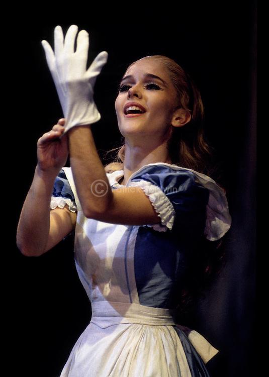 Derek Deane's production ofAlice In Wonderland for English National Ballet...Martha Barahona