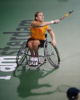18-11-07, Netherlands, Amsterdam, Wheelchairtennis Masters 2007, Esther Vergeer