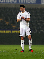 Pictured: Joseph Jones of Swansea Monday 30 March 2015<br />