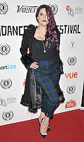 """Jasz Vegas attends the """"My Hero"""" Raindance Film Festival UK film premiere, Vue Piccadilly cinema, Lower Regent Street, London, England, UK, on Friday 25 September 2015. <br /> CAP/CAN<br /> ©Can Nguyen/Capital Pictures"""