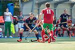 Mannheim, Germany, September 12: During the 1. Bundesliga men fieldhockey match between Mannheimer HC and Hamburger Polo Club on September 12, 2020 at Am Neckarkanal in Mannheim, Germany. Final score 2-0. (Copyright Dirk Markgraf / www.265-images.com) *** Jan-Philipp Fischer #23 of Mannheimer HC