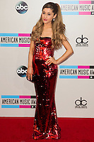 LOS ANGELES, CA - NOVEMBER 24: Ariana Grande arriving at the 2013 American Music Awards held at Nokia Theatre L.A. Live on November 24, 2013 in Los Angeles, California. (Photo by Celebrity Monitor)