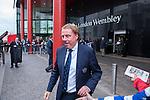Queens Park Rangers 1 Derby County 0, 24/05/2014. Wembley Stadium, Championship Play Off Final. Harry Redknapp leaves the team hotel ahead of the Championship Play-Off Final between Queens Park Rangers and Derby County from Wembley Stadium.  Photo by Simon Gill.