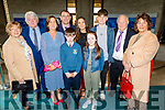 Brendán Meehan with his family after receiving his Confirmation in St Brendans Church on Thursday. Front l to r: Brendán and Cora Meehan.<br /> Back l to r: Cora Meehan, John Regan, Siobhan, Gary, Roisin, Gearoid, Gerry Meehan and Marcella O'Regan.