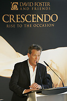 Famed Canadian music producer David Foster was in Halifax on Friday to announce Crescendo, a star-studded charity concert coming to Atlantic Canada in March 2008. Crescendo will raise $1 million, the largest amount from a single event in Atlantic Canadian history (CNW Group/David Foster Foundation)