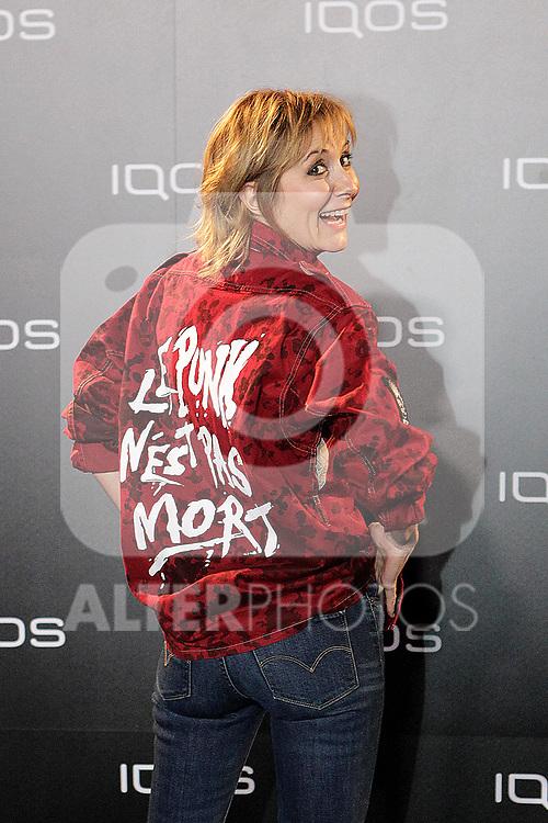 Nathalie Poza attends to IQOS3 presentation at Palacio de Cibeles in Madrid. February 10,2019. (ALTERPHOTOS/Alconada)