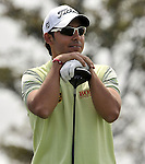 SUZHOU, CHINA - APRIL 17:  Pablo Larrazabal of Spain waits to tees off on the 2nd hole during the Round Three of the Volvo China Open on April 17, 2010 in Suzhou, China. Photo by Victor Fraile / The Power of Sport Images