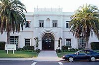 San Diego: University of San Diego, Founder's Hall. Photo '95.