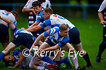 Action from the Tralee Rugby Club Golden Oldies against the Golden Oldies rugby team team from California in O'Dowd Park on Thursday.