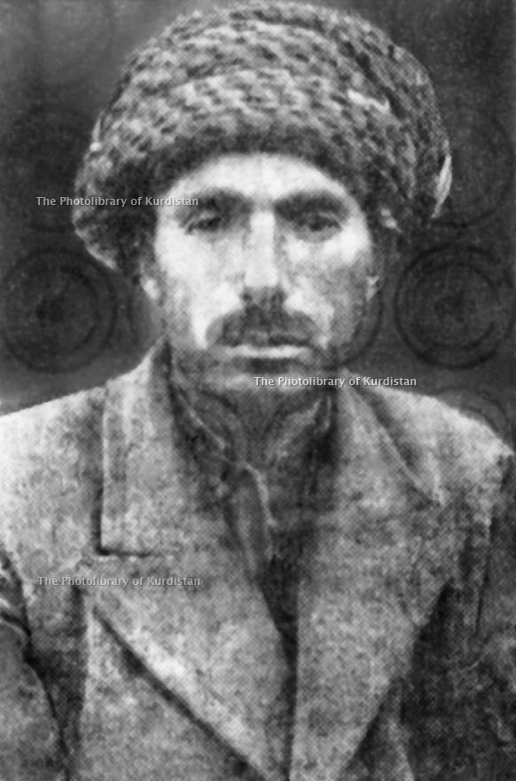 Irak 1930?.Sheikh Ahmed Barzani.Iraq 1930?.Sheikh Ahmed Barzani