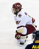 Steven Whitney (BC - 21) - The Boston College Eagles defeated the Merrimack College Warriors 4-3 on Friday, October 30, 2009, at Conte Forum in Chestnut Hill, Massachusetts.
