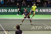 ABN AMRO World Tennis Tournament, 13 Februari, 2018, Tennis, Ahoy, Rotterdam, The Netherlands, Jean-Julien Rojer (NED) / Horia Tecau (ROU), Feliciano Lopez (SPA)<br /> <br /> Photo: www.tennisimages.com