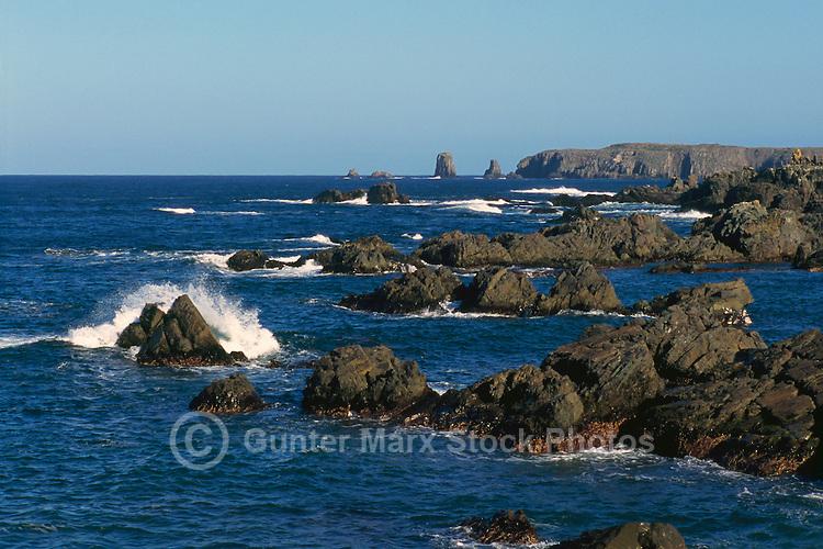 Cape Bonavista, Newfoundland and Labrador, Canada - Rugged Atlantic Coastline on the Bonavista Peninsula