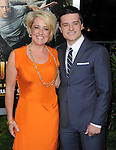 Jush Hutcherson and his mom at Warner Bros. L.A. Premiere of JOURNEY 2 The Mysterious Island held at The Grauman's Chinese Theatre in Hollywood, California on February 02,2012                                                                               © 2012 Hollywood Press Agency