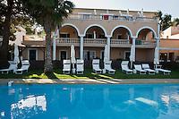 """Europe/France/2A/Corse du Sud/Ajaccio: Hotel """"Les Mouettes"""" et sa piscine"""